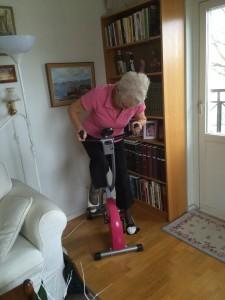 Clary cyklar för fullt
