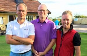 KM Herrar prispall Erik Bätz(2a) Martin Strand(1a) Niclas Larsson(3a)