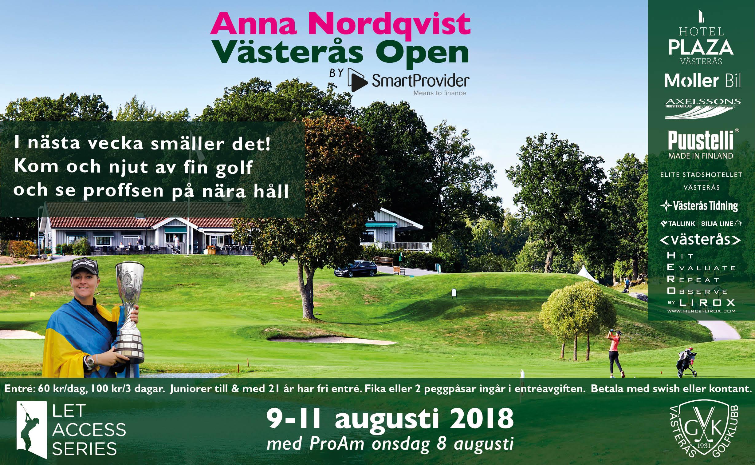 72264132dcfc Publikbuss på Västerås Open   Västerås Golfklubb